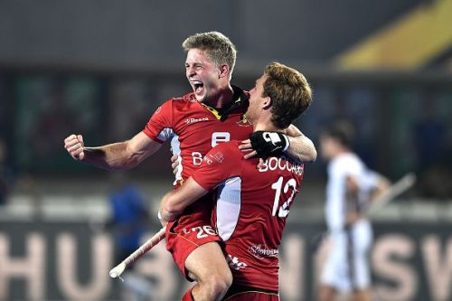 lympic silver medallist Belgium qualified for the semifinals of the men's hockey World Cup for the first time ever