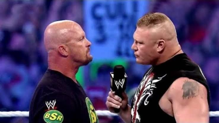 Austin and Lesnar!