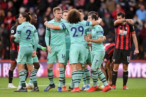 Arsenal are enjoying a solid run