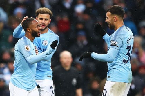 Manchester City returned to winning ways against Everton