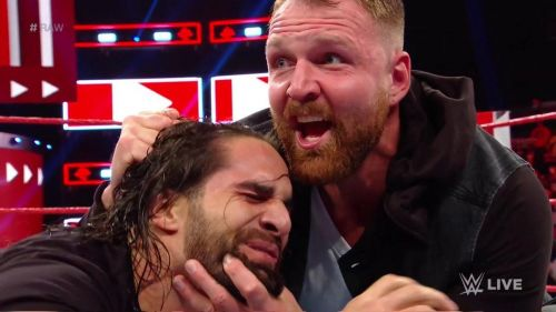 The two men will finally collide at TLC