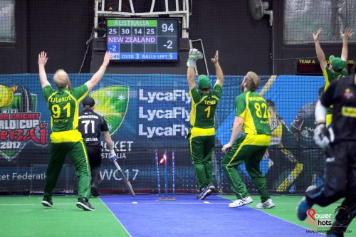 Australian at the 2017 Indoor Cricket World Cup (Image Courtesy: Powershots Photography)