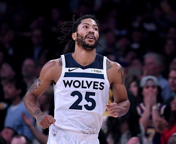 NBA 2018-19  Derrick Rose making his case for the Sixth Man of the ... 1ed0b105a