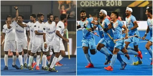 India and Pakistan have a storied rivalry on the hockey field