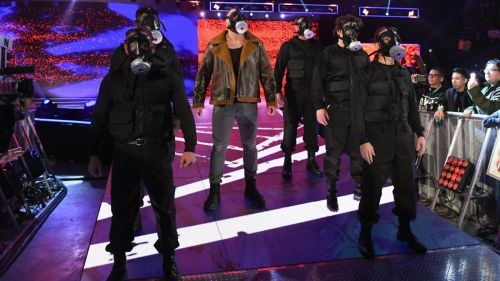 Dean Ambrose's entrance was brilliant this week