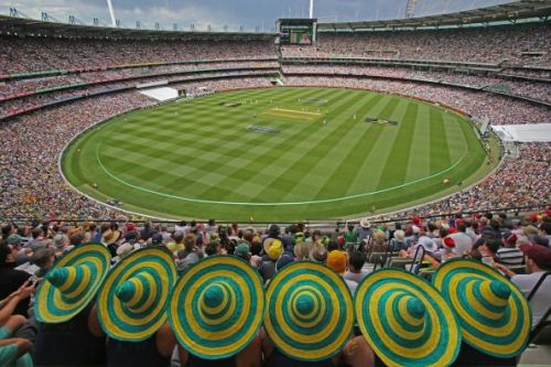 England Vs Australia at the MCG