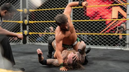 Gargano and Black went the distance in this match
