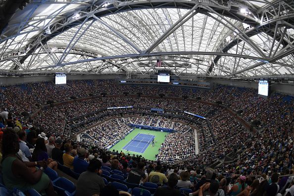 A packed Arthur Ashe stadium at the 2016 US Open final