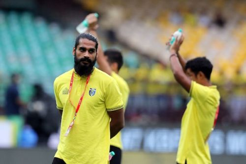 Sandesh Jhingan is linked with a move outside Kerala Blasters