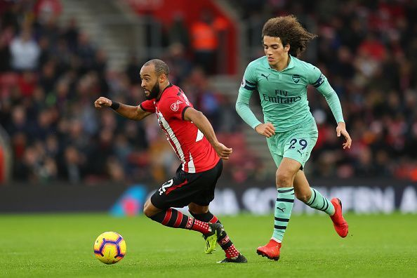 Redmond created three key passes and was a constant threat for Arsenal's backline to contend with