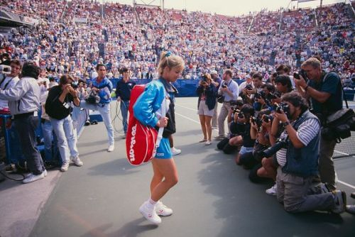 Chris Evert - 6-time US Open winner (joint highest with Serena Williams in the Open Era)