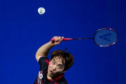Kim Sa Rang in action