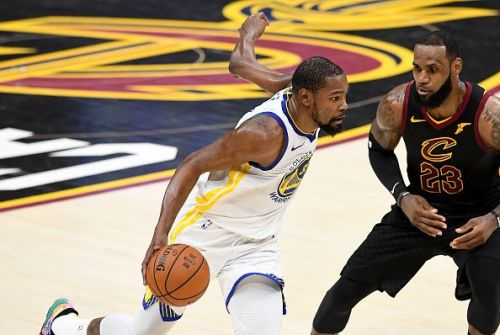Kevin Durant and LeBron James have faced off in the last two NBA Finals, with Durant coming out on top