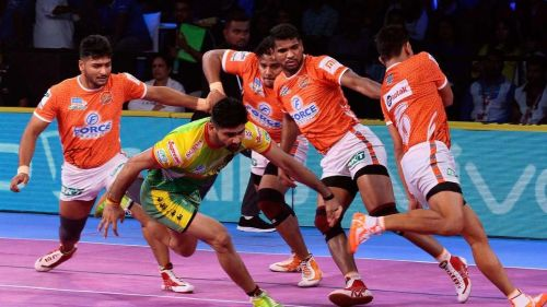 Pardeep Narwal was at his dominating best against Pune