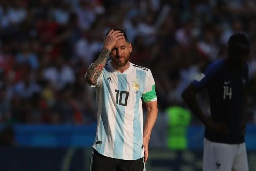 Messi suffered heartbreak with Argentina at the World Cup