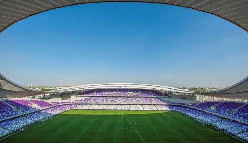 Hazza Bin Sayed Stadium - Capacity - 25965