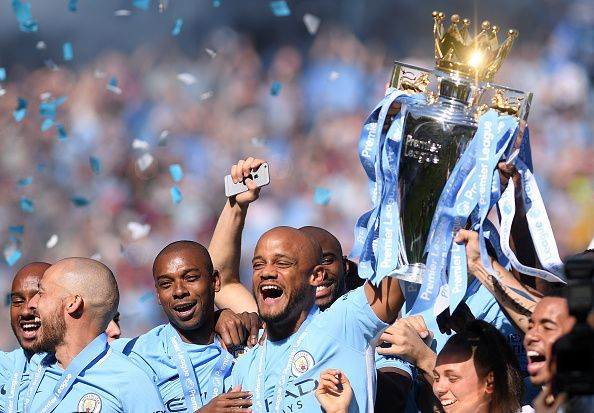 Manchester City were indestructible last season