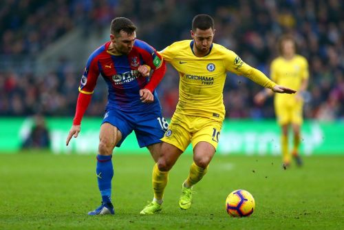 Chelsea faced Palace at Selhurst Park