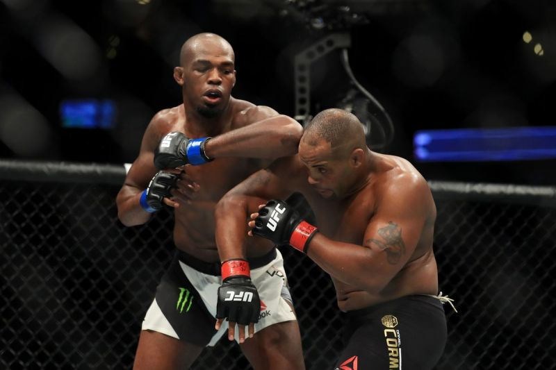 Jon Jones and Daniel Cormier clashed in the headline bout