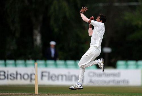 England Lions v India A - Day Two-Navdeep Saini