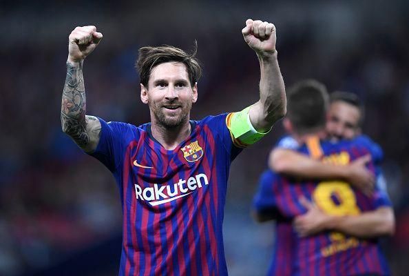 Messi has broken his former teammate