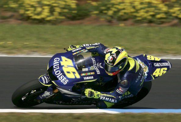 Valentino Rossi holds seven MotoGP World Championships