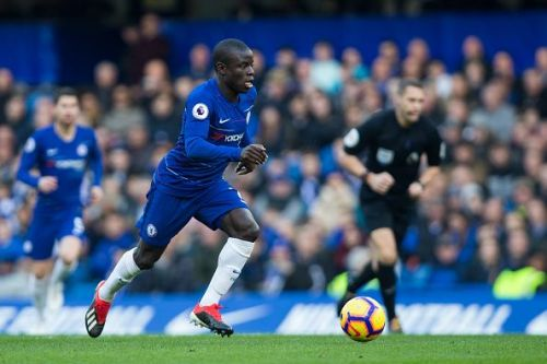 Kante showed signs that he can adapt to the new role