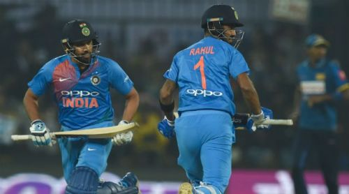 Image result for rohit sharma and kl rahul