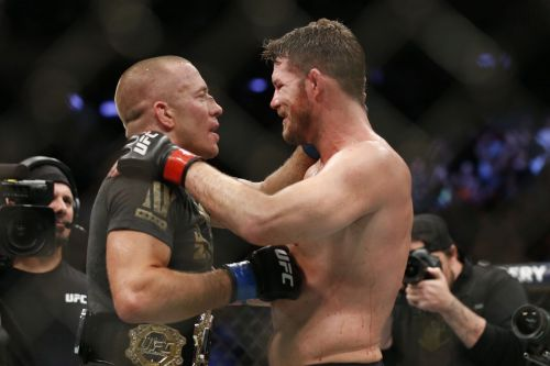UFC 217 was headlined by GSP and Bisping