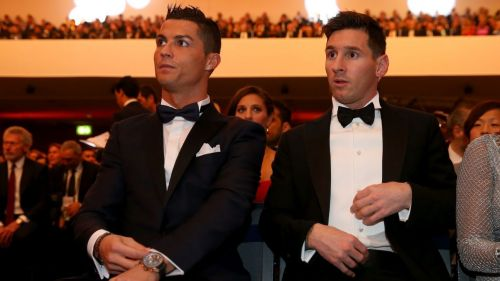 Ronaldo and Messi lost out on the 2018 Ballon d'Or to Modric