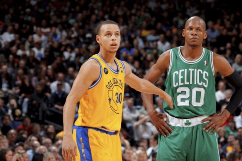 Steph Curry and Ray Allen