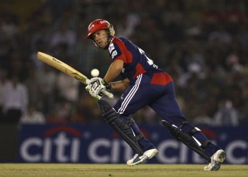 AB de Villiers made his IPL debut for Delhi Daredevils