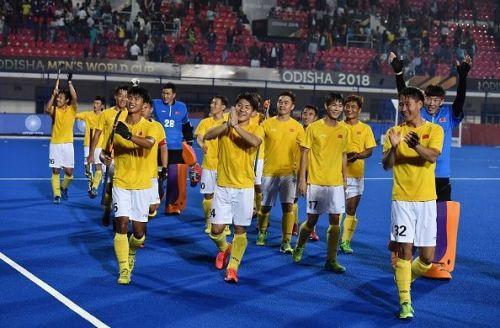 England v China - FIH Men's Hockey World Cup