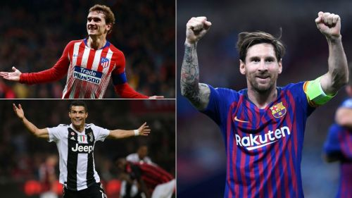 Messi, Ronaldo and Griezmann won trophies in 2018, but who had the most goals and assists?