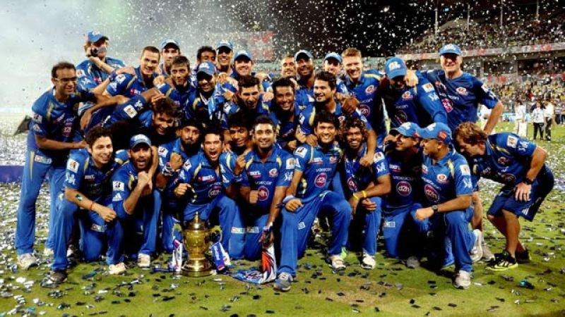 Mumbai Indians won the IPL for a record third time in 2017.