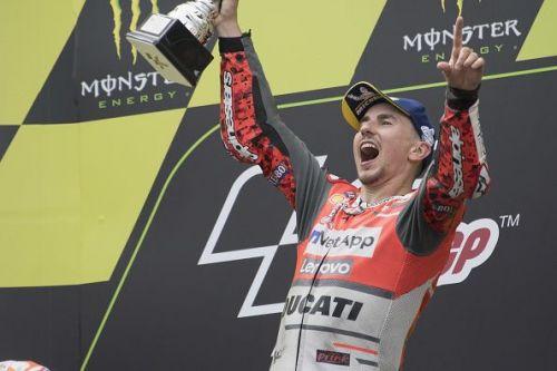 Jorge Lorenzo is a three-time MotoGP World Champion