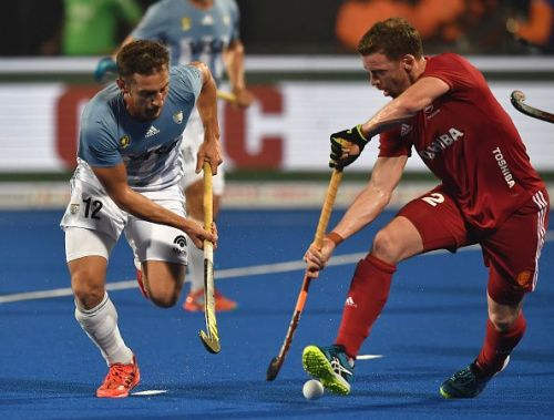 England and Argentina played a thrilling opening quarter