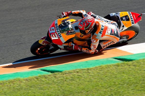Marc Marquez won his fourth riders