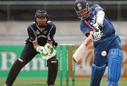 Tendulkar was in such good form on that day, that he never looked like getting out!