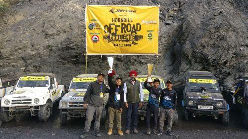 JK Tyre Hornbill Off-Roading Cup Champions