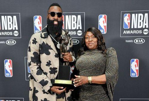 NBA Awards Show 2018 - Backstage Photo Room