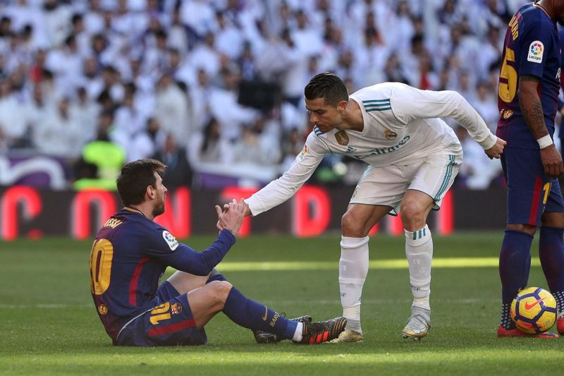 The beauty of the game: Messi and Ronaldo