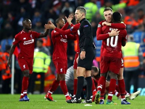 Liverpool advanced to the knock-out stage