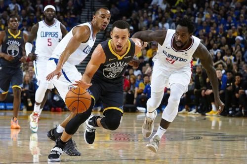 Stephen Curry had a monster game against the Clippers. Credit: The Strait Times
