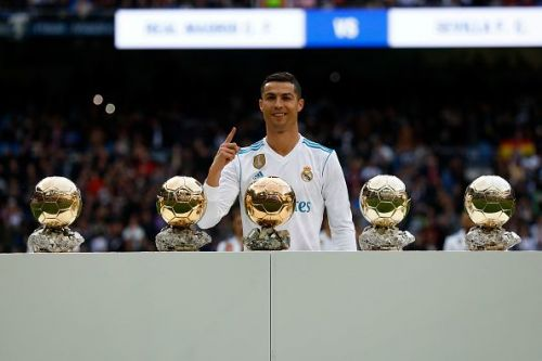 Cristiano Ronaldo failed to make it six