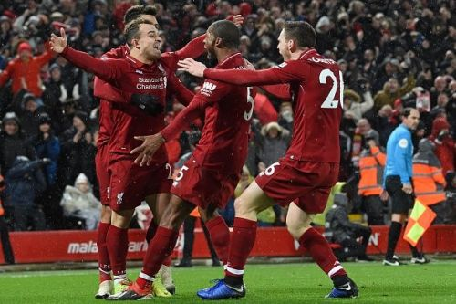Liverpool retained their spot at the summit of the league table