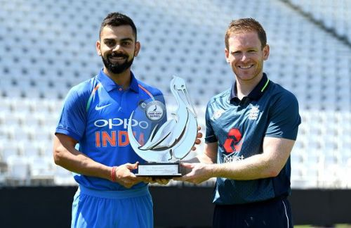 England and India are the top two teams on ODI cricket at the moment