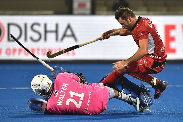 Tobias Walter made numerous splendid saves to keep Germany in the contest