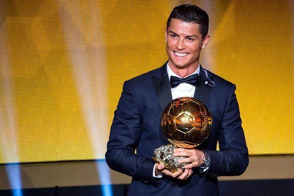 Cristiano Ronaldo - The reigning Ballon d