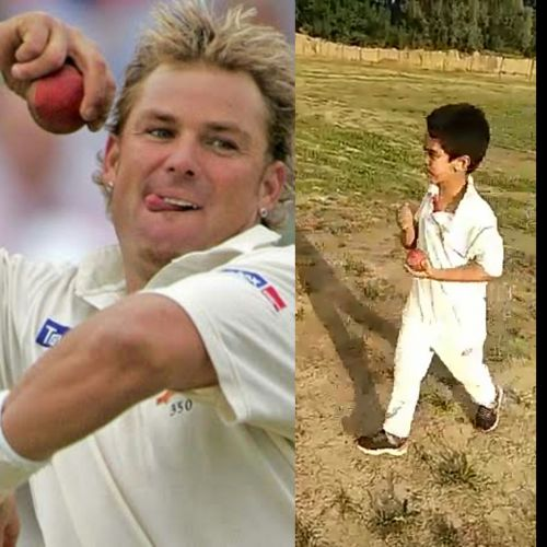 Shane Warne hails this Kashmiri kid for bowling the 'ball of the century'